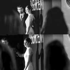 London Premiere of Insurgent • • Shailene Woodley and Theo James