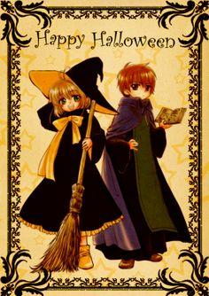 Cardcaptor Sakura | CLAMP | Madhouse / Kinomoto Sakura and Li Shaoran / 「witch or wizard」/「チラ裏mtr」のイラスト [pixiv]