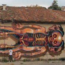 Neste post uma seleção com alguns trabalhos realmente impressionantes de Graffiti Street, em murais criados por NYCHOS, um designer da Áustria.