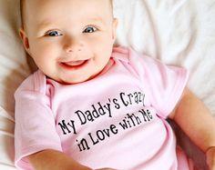 Väter Tag Onesies ® Daddy Strampelanzug neue von LittleAdamandEve