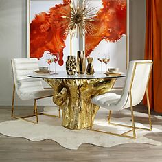 Wondering how to plan the perfect dining room? All the dining room inspiration that you need to your interior design project are on this board. Get a look and let you inspiring! See more clicking on the image.