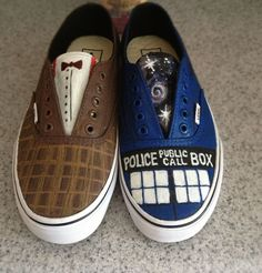 DIY Doctor Who Vans (11th doctor) | Brazen Bernadette