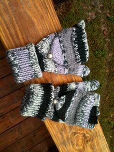 Knitted fingerless mitten pattern by Cre8tiveTogether on Etsy, $4.50