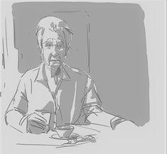 #nonna #alzheimers #drink #sketch #sketchbook #drawing #digitaldrawing #bw Alzheimers, Tao, Sketch, Drink, Drawings, Sketch Drawing, Beverage, Sketches, Sketches