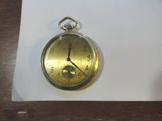 1922 Waltham Pocket Watch 12 Size Running 46mm 15 Jewel 25 Year Gold Filled Case by KayesVintageJewelry on Etsy