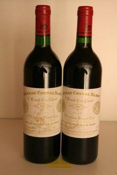 Château CHEVAL-BLANC 1989 - 1er Grand cru classé A - St Emilion