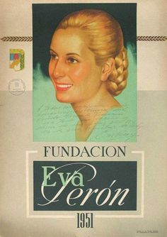 Image of the Almanac of the year of the Fundación Eva Perón. It has signature and dedication of Evita. Latina, Absolute Power, Biggest Fears, Political Leaders, Torn Paper, Historical Art, Vintage Pictures, Call Her, Female Art