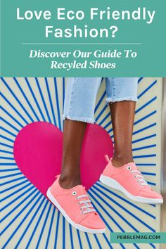 If ethical fashion is important you then you'll want the most eco friendly clothing. Enter our guide to recycled shoes! From vegan sneakers to shoes make from recycled plastics we bring you 16 great brands that help save the planet. Come on over and discover your sustainable style... Vegan Sneakers, Vegan Shoes, Vegan Clothing, Ethical Clothing, Sustainable Style, Sustainable Fashion, Recycled Shoes, Independent Clothing, Ethical Fashion Brands