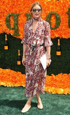 Olivia Palermo At The Veuve Clicquot Polo Classic (THE OLIVIA PALERMO LOOKBOOK)