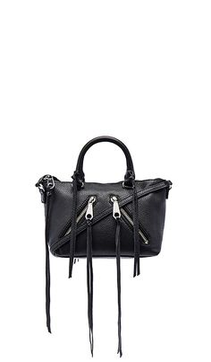 Rebecca Minkoff Micro Moto Satchel in Black. Can get at Nordstrom too