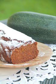 Kuchnia bezglutenowa: Bezglutenowe ciasto z cukinii. Bez mleka i jaj.