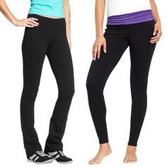 Rank & Style - Old Navy Women's Yoga Leggings and Women's Slim Boot-Cut Yoga Pants #rankandstyle