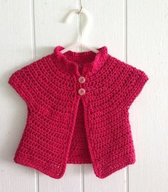 Azalea Baby Cardigan pattern by Amy H. Aymond A simple crochet baby sweater written for folks who can not read crochet patterns! Written simply, worked in almost all half double crochet, with diagrams included. Crochet Baby Sweaters, Crochet Baby Cardigan, Crochet Baby Clothes, Baby Knitting, Crochet Girls, Crochet For Kids, Easy Crochet, Free Crochet, Double Crochet