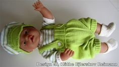 Opskrift Baby Born - www.projekt-saseline.dk Knitting Dolls Clothes, Crochet Doll Clothes, Baby Born Clothes, Diy Doll, Fingerless Gloves, Arm Warmers, Crochet Baby, Couture, Baby Dolls