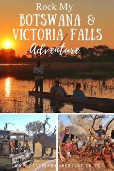 Rock My Botswana & Victoria Falls Adventure - Small Group, African Adventure Tour Read Rose, Okavango Delta, Victoria Falls, Game Reserve, Adventure Tours, Africa Travel, Sierra Leone, Republic Of The Congo, Solo Travel