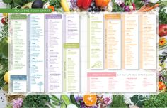 alkaline food chart from my book