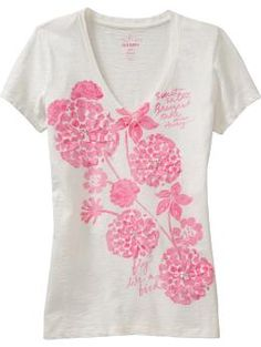 graphic tee $15.99 Old Navy