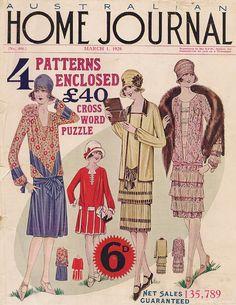 1920s & 30s Australian fashion magazines | Violet's Vintage Vault