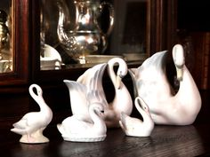 Swans family in the living room.