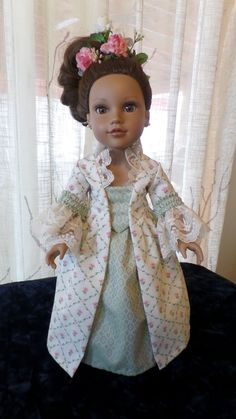 How to Make a Historical Ball Gown for Dolls Pt. 17