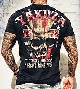 .Yakuza Ink t-paita Crisly And Sick Black UUTUUS!