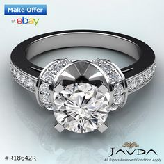 Items for sale by javdajewelry Solitaire Ring, Round Diamonds, Rings For Men, White Gold, Anniversary, Bling, Engagement Rings, Elegant, Ebay