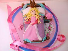 tarta bella durmiente - Sleeping Beauty cake