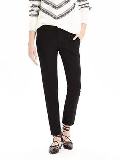 Avery-Fit Lightweight Wool Pant | Banana Republic