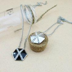 Kpop EXO-K EXO-M luhan kris planet necklace