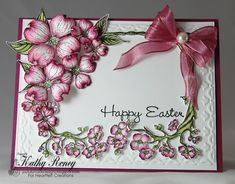 Joyfully Made Designs, card using the beautiful Flowering Dogwood Collection!