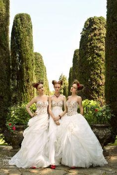 eme di eme spring 2011 wedding dresses
