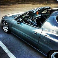 Honda CRX Del Sol - so sexy. Have to get another!