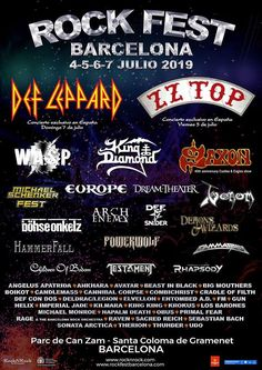 Heavy Metal, Heavy Rock, Spanish Music, Arch Enemy, Top Les, And July, 40th Anniversary, Barcelona, Concert