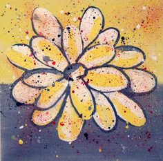 Original Abstract Acrylic 12 x 12 Contemporary by lindapowell, $139.00