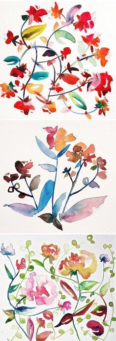 kiana mosley - watercolors {avail as prints}