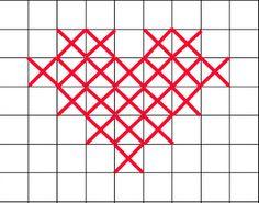 Easy Cross Stitch Patterns | EASY: Free Crochet Pattern - Cross Stitch Hat