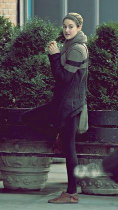 Shailene Woodley in NY