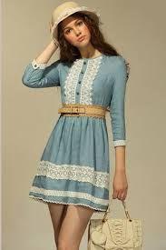 Image result for jean dress
