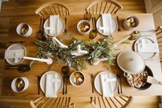 intimate holiday table with Article - One Brass Fox - One Brass Fox // Powered by chloédigital