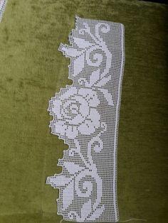 Image gallery – Page 516999232220857428 – Artofit Crochet Towel, Crochet Trim, Filet Crochet, Knit Crochet, Crochet Edging Patterns, Crochet Borders, Crochet Designs, Lace Doilies, Crochet Doilies
