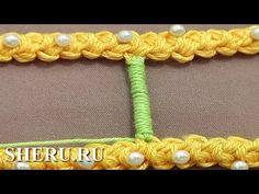 Румынские кружева Урок 50 часть 9 из 9 Обвитая брида - YouTube