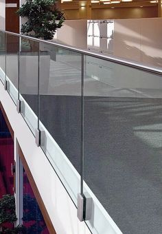 the catalogue and request prices of Easy glass® mod 0763 By q-railing italia, stainless steel balustrade, easy glass® Collection Balcony Glass Design, Glass Balcony Railing, Patio Railing, Balcony Railing Design, Glass Stairs, Staircase Railings, Staircase Design, Patio Stairs, Railing Ideas
