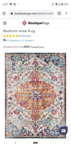 $173 Rugs Online, Office Decor, Bohemian Rug, Area Rugs, This Or That Questions, Inspiration, Home Decor, Biblical Inspiration, Rugs