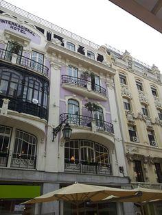 Purple hotel in Lissabon