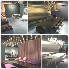 Stunning lights and great furniture from Normann Copenhagen at Orgatec 2016.