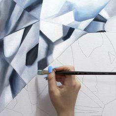 Diamond paintings by Angie Crabtree www.angiecrabtree.com