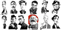 Dinesen,Proust, Rimbaud, Bolaño, Joyce, Cortázar, Kafka, Conrad, Camus, Marx, Faulkner y Woolf