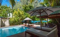The best honeymoon hotels in the Seychelles | Telegraph Travel Honeymoon Hotels, Best Honeymoon, Seychelles Resorts, Indoor Outdoor Bathroom, Outside Pool, Beach Room, Spa Offers, Beach Villa, Desert Island