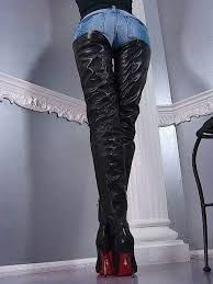 Highest Crotch Boots I've ever seen!