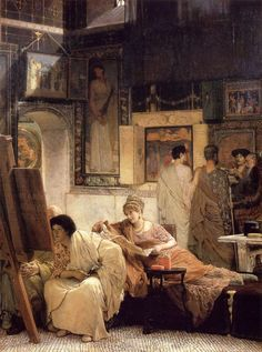 A Picture Gallery, Sir Lawrence Alma-Tadema